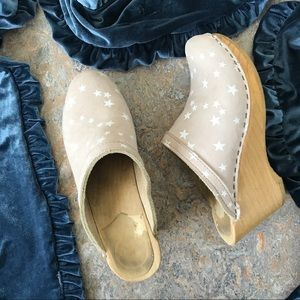 No. 6 Old School Star Clogs Shoes